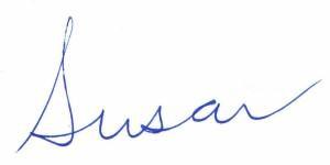Susan Kruger Signature