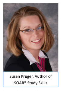 Susan Kruger, author of soar study skills